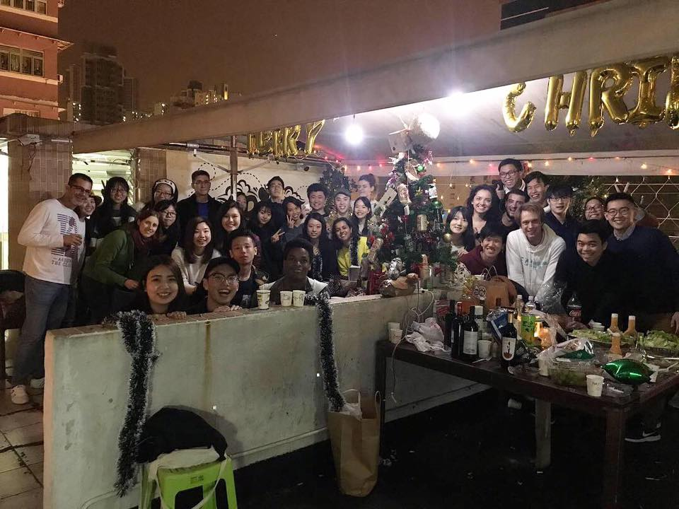 Christmas Party at the rooftop!