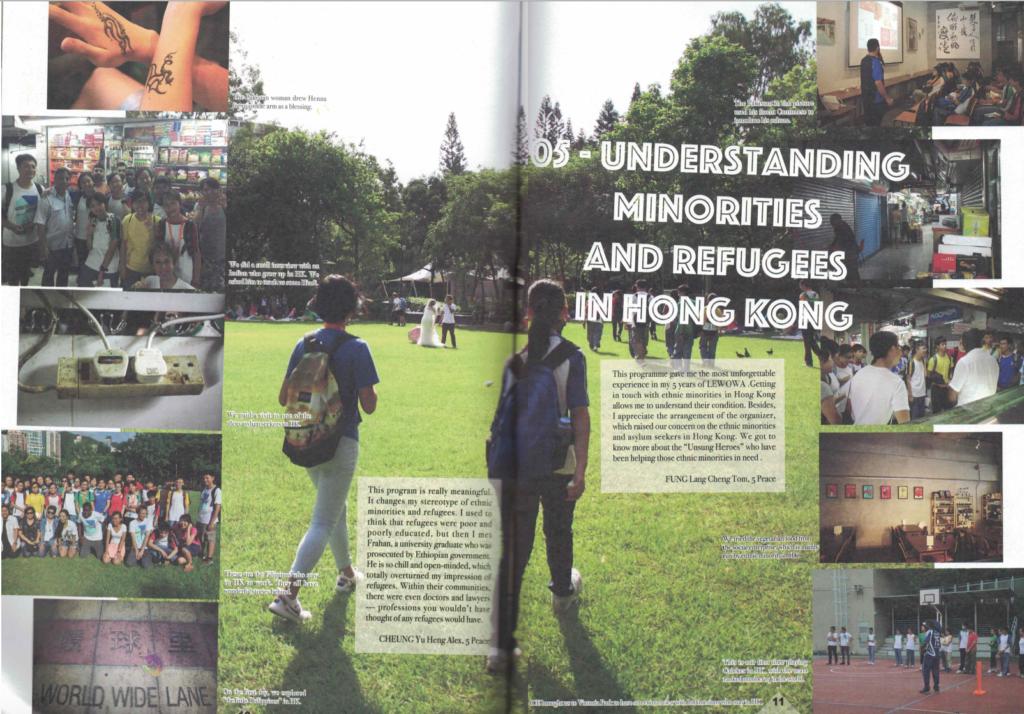 Understanding Minorities and Refugee in Hong Kong with ICE