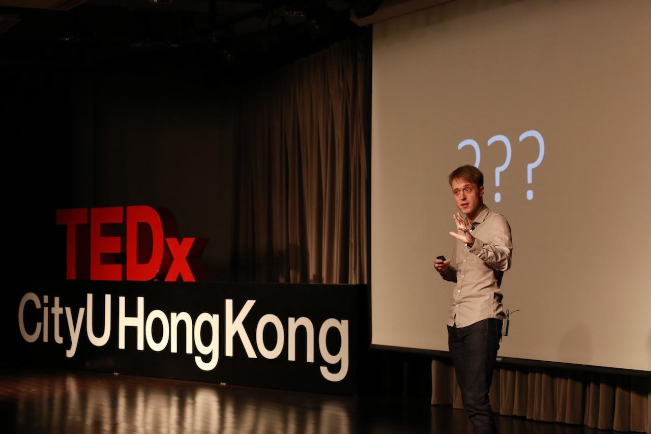 Explore the World - Like a Baby | Till Kraemer | TEDxCityUHongKong